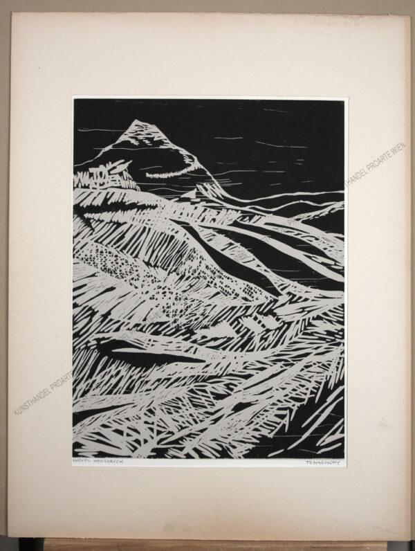 Karl Tomasovsky - Alpine Landschaft