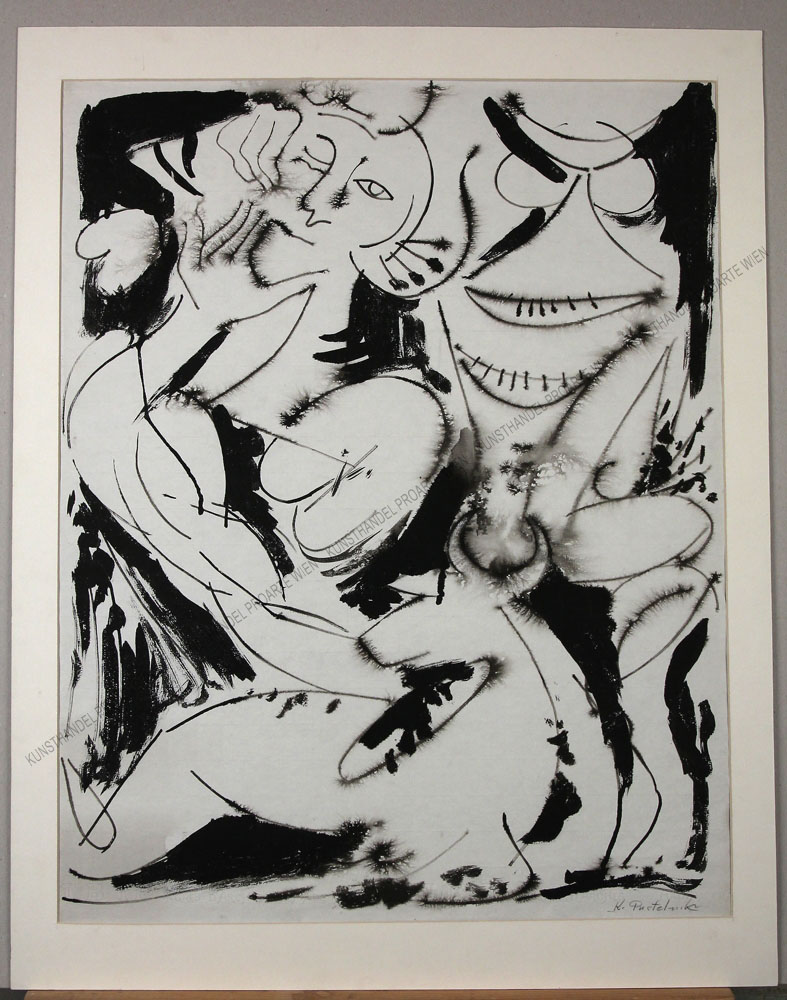 Karol Pustelnik - Zeichnung