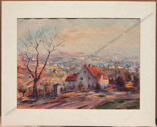Wilhelm Kaufmann - Motiv aus Grinzing