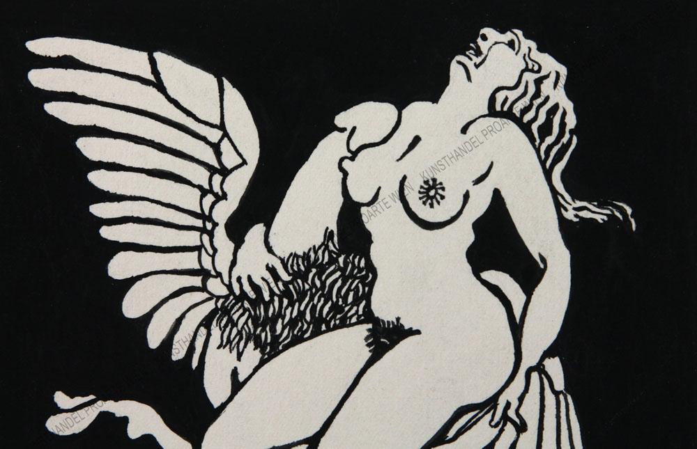 Künstler unbekannt - Erotische Darstellung