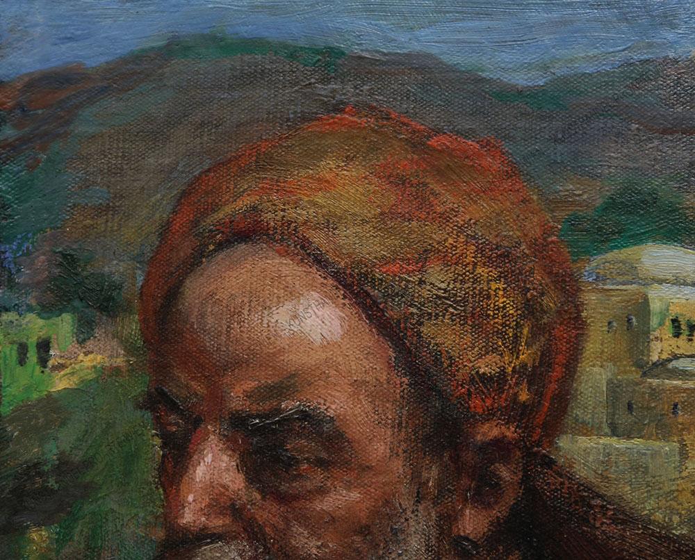 Victor Krämer - Kopf eines Orientalen