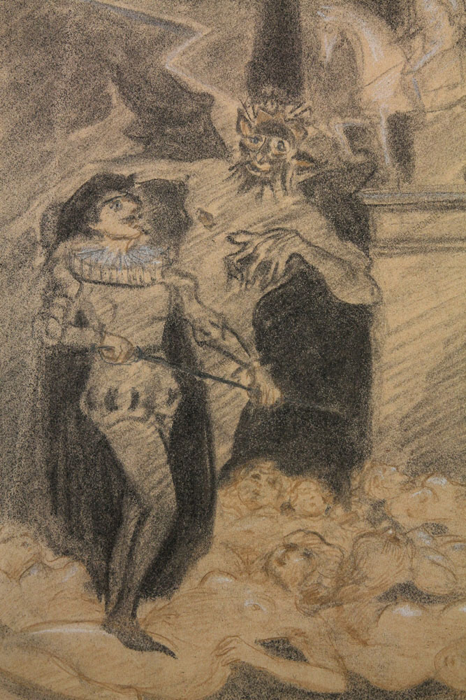"Robert Freiherr von Doblhoff - Illustration zu Richard Strauss's - ""Don Juan"" nach Nikolaus Lenau"