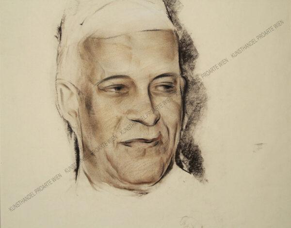 Anton Filkuka - Portrait des Braj Kumar Nehru