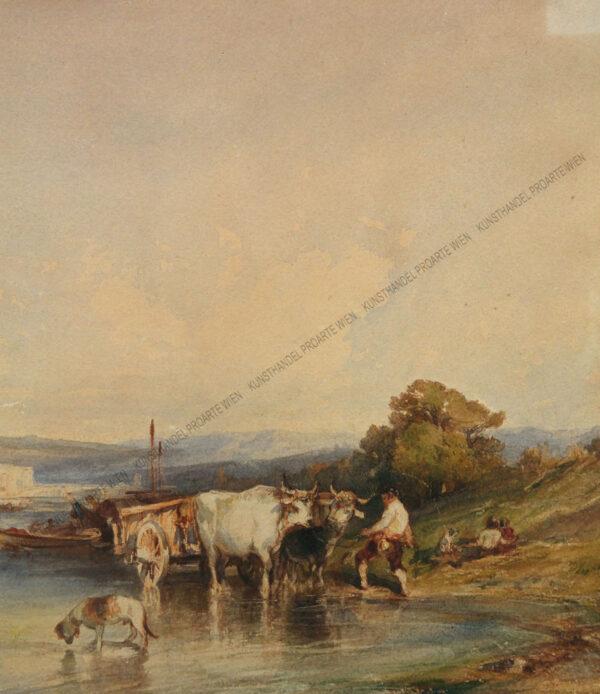 Felix Ziem - Flusslandschaft