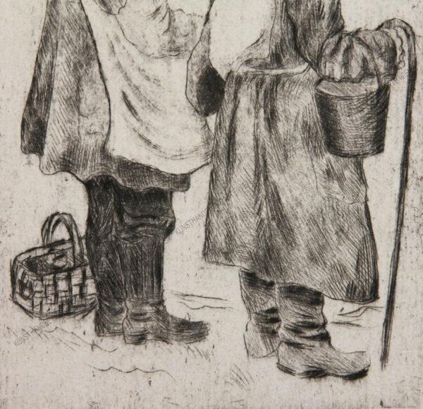 Peredwischnik - Zwei Bauern