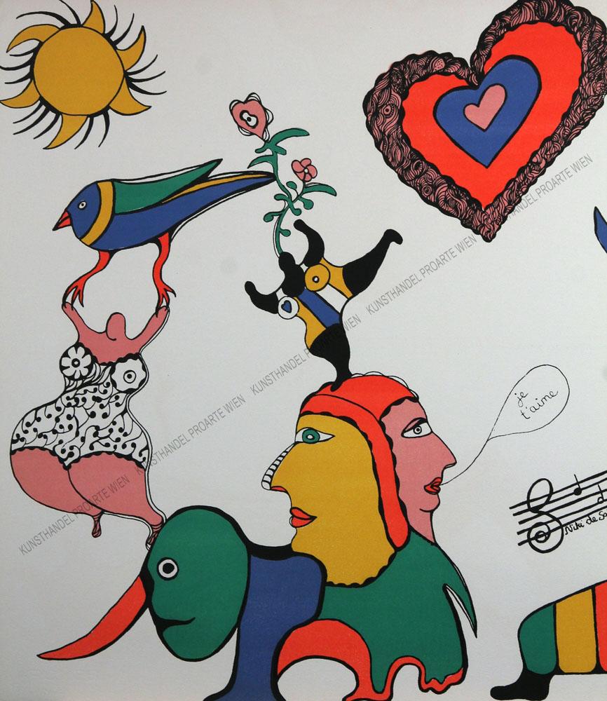 Niki de Saint-Phalle - Je t'aime