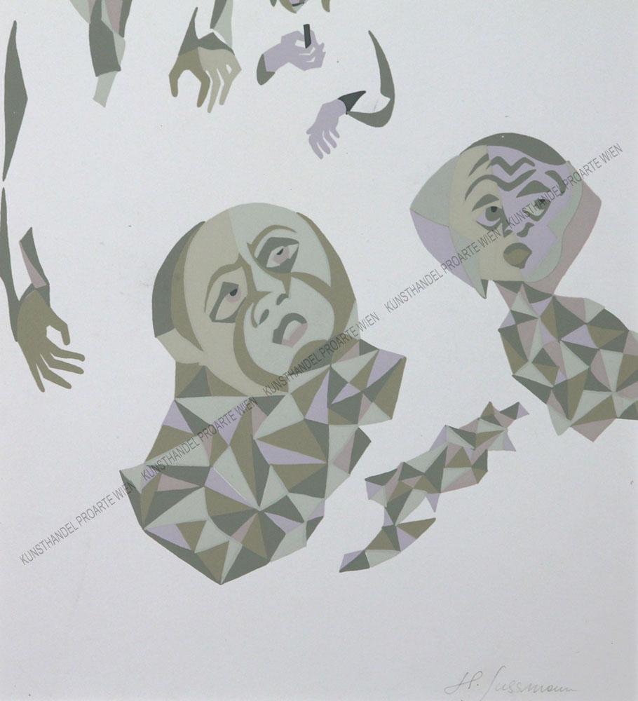 Heinrich Sussmann - Kopf / Personenstudien