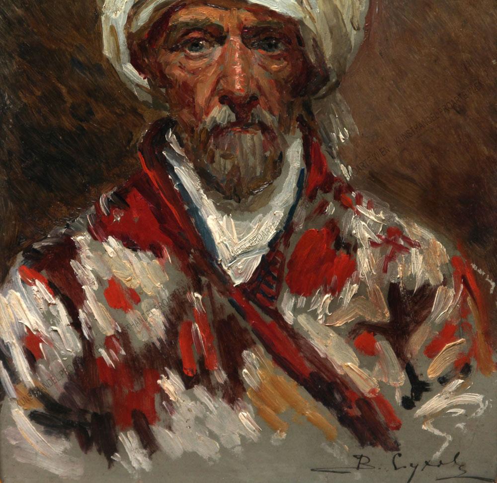 Vladimir Dimitrievich Sukhovo - Bärtiger Orientale mit Turban
