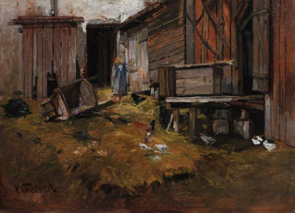 Paul Unbereit - Bauernhof in der Wachau
