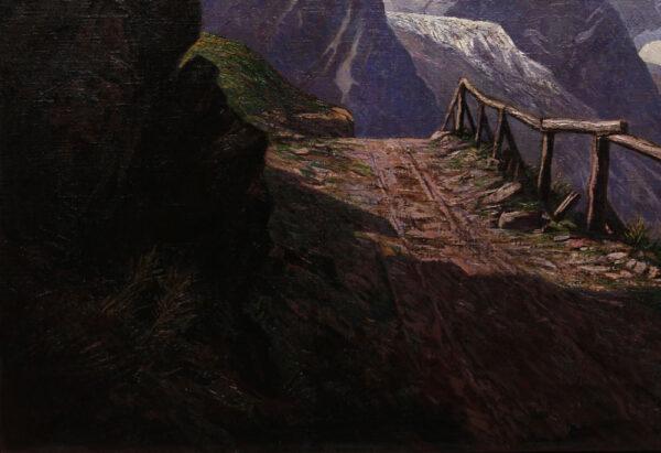 Bruno Hess - Hochgebirgslandschaft bei Zell am See