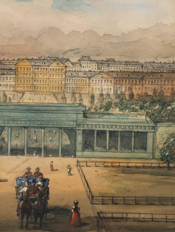J.W. Frey - Burgtor in Wien
