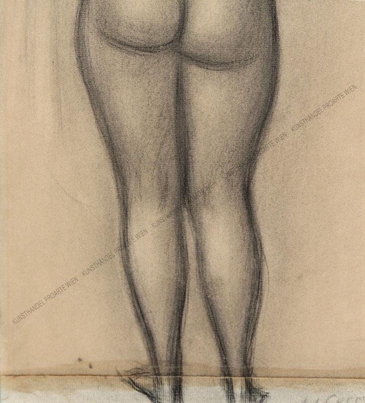 Adolf Curry - Weiblicher Rückenakt