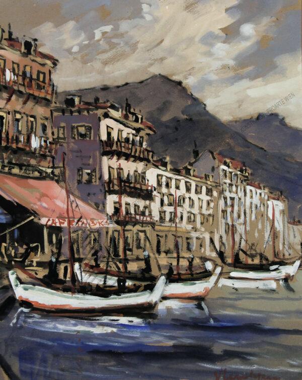 Künstler unbekannt - Hafen