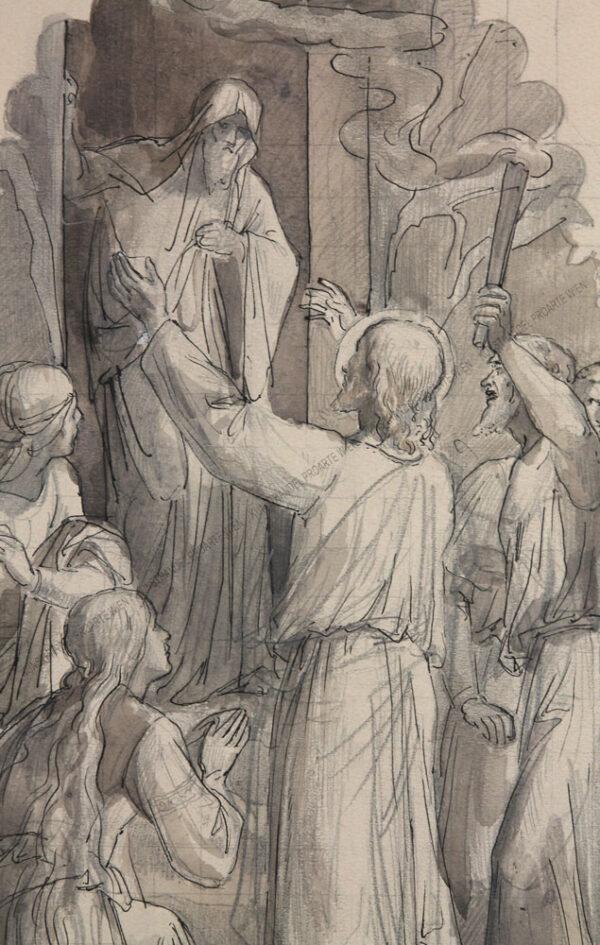 Karl Jobst - Die Auferstehung des Lazarus
