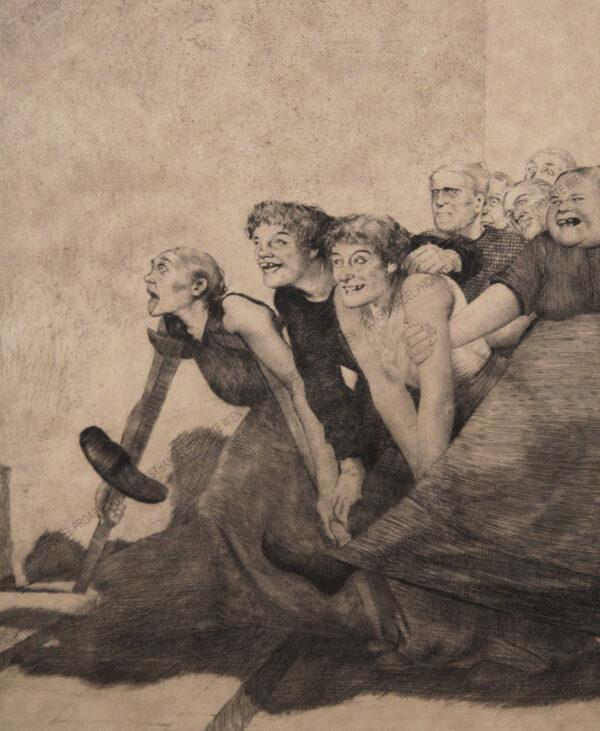 Josef Uhl - Tanz der Gemeinheit