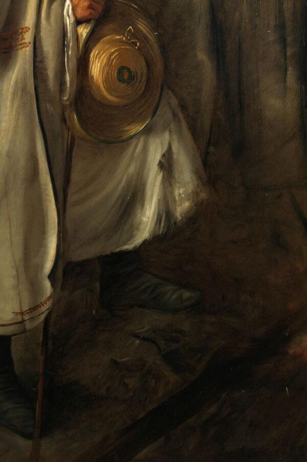 Friedrich von Amerling - Darstellung eines ungarischen oder slowakischen Hirten