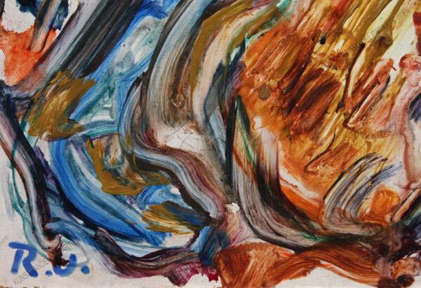 Rudolf Ullik - Abstrakte Komposition