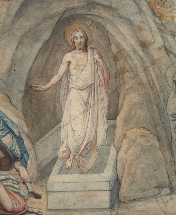 Jacob Schell - Auferstehung Christi
