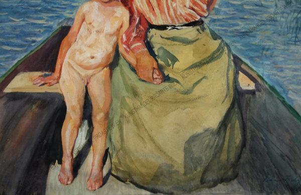 Hans Tichy - Mitter mit Kind