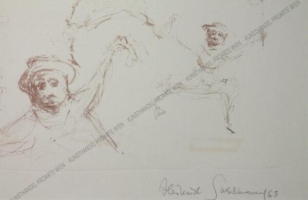 Heinrich Sussmann - Tanzende Juden