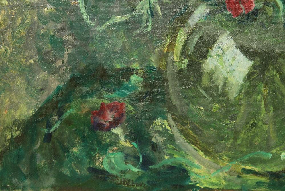 Franz Lex - Sommerblumen in Vase