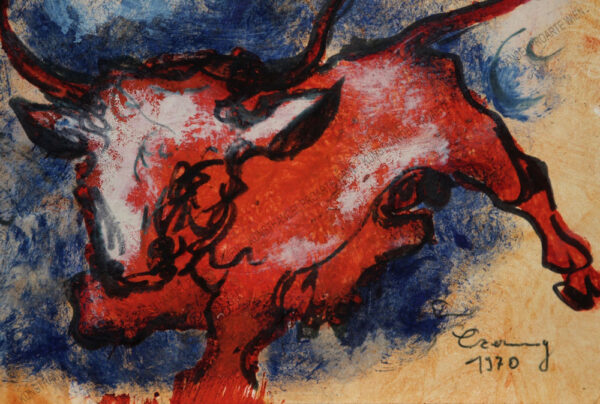 Alfred Czerny - Roter Stier