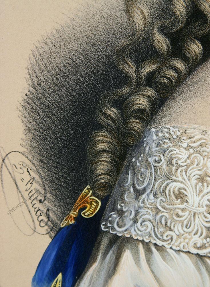 Zéphirin Belliard - Maria Theresia von Österreich -Marie Thérèse d'Autriche