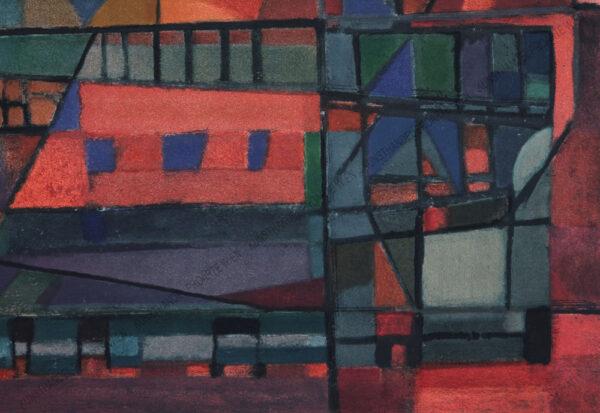 Alfred Manessier - Abstrakte Komposition