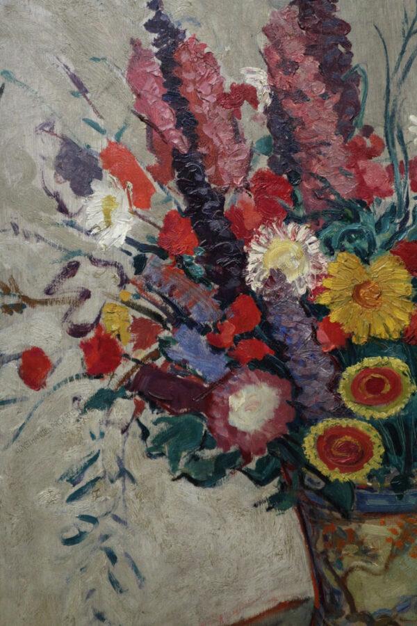 Viktor Theodor Slama - Prachtvolles Blumenstillleben