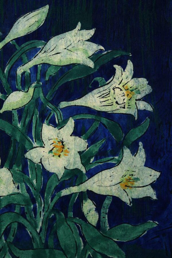 Anton Bachmayr - Weiße Lilien