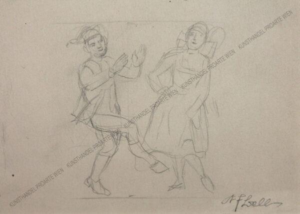 Karl Friedrich Bell - Studienblatt -Musik und Tanz